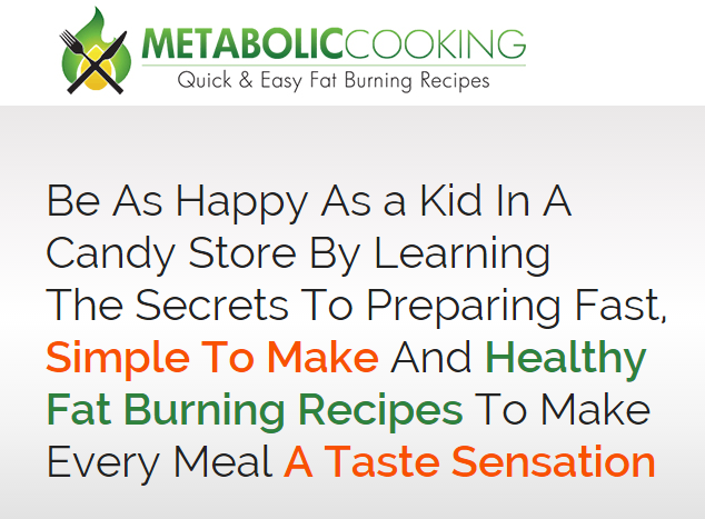 metabolic cooking fat loss
