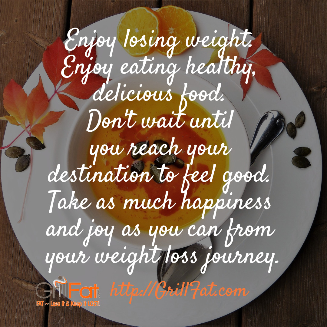 enjoy losing weight