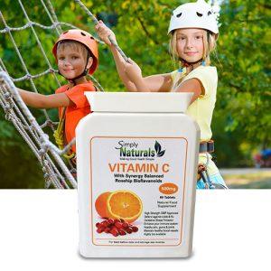 Simply Naturals RoseHip BioFlavanoids Vitamin C